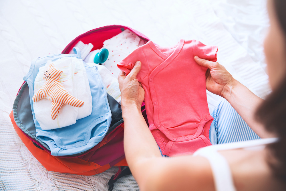 how to organize diaper bag